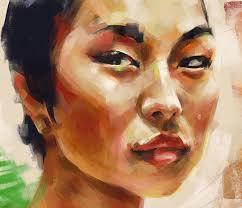 Digital Portrait Painting Opie Snow Art Jean Digital Portrait Painting Time Lapse
