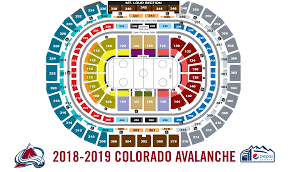 Detroit Red Wings Stadium Seating Chart Colorado Avalanche Seating Chart Thelifeisdream