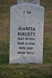 Wanda Juanita Holt Burgett (1934-2016) - Find A Grave Memorial