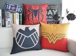 aliexpress com buy spider man wonder woman shield justice league