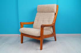 Danish Teak Relax Lounge Chair Sessel 60er Thams Designer High Für