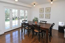 Awesome Dining Room French Doors Contemporary