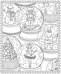 Free Coloring Pages 34 Christmas Coloring Pages Kawaii