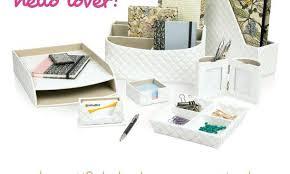 Decorative Desk Accessories Sets Impressive Elegant Desk Accessories Eye Catching Desk Accessory Sets Of