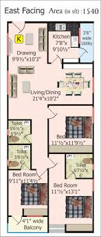 Neat Design  X  House Plans  Plan For  Sq Ft Of Samples - 600 sq ft house interior design