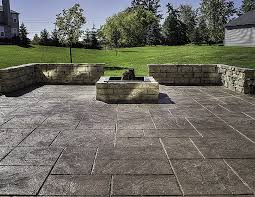 concrete patio designs with fire pit. Precast Concrete Fire Pit Inspirational 50 Lovely Patio Stamps Design Central High Definition Wallpaper Designs With