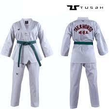 Taekwondo Player Diet Chart Tusah Kids World Taekwondo White V Neck Embroidered Uniform Taekwondo Gi Suit Dobok Tkd