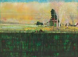 daytime astronomy 1997 98 200x280cm oil on canvas private collection peter doig all