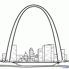 How To Draw The Gateway Arch