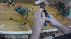 How To Custom Cut Led Christmas Lights Cutting Led Light String