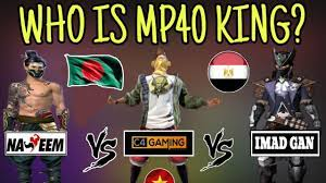 You will find yourself on a deserted island among other players like you. World Best Mp40 King Of Free Fire King Of Mp40 Youtube