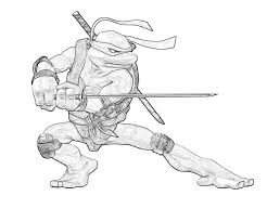 Small Picture Ninja Turtles Coloring Pages Leonardo Coloring Home