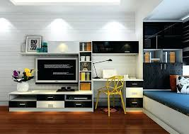 large image for matching computer desk and tv stand cabinet combination bedroom turn a into