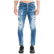 Amazon Com Dsquared2 Men Jeans Skater Blu Clothing
