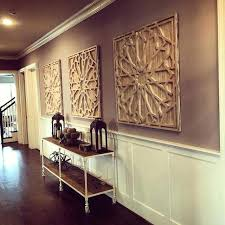 elegant whitewashed wall decor long hallway decor idea ft west elms whitewashed wood wall art carved