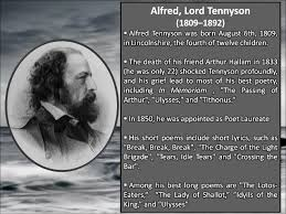 tennyson s break break break  2