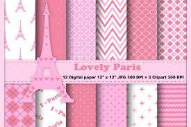 paris digital paper eiffel tower background pink paris pattern travel background sbooking
