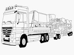 Kleurplaat Vrachtwagen Scania Schets Kleurplaat Volvo Truck Archidev
