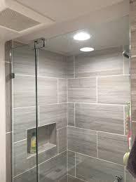small bathroom shower door installation