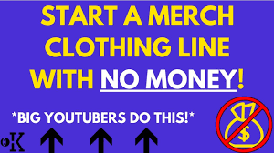 Make Own Merchandise How To Make Your Own Merchandise For Youtube Free 2018