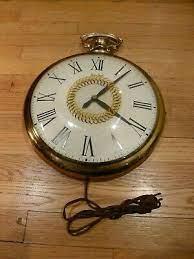 vintage 1960s united clock corp large