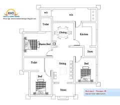 4 bedroom house plans in kerala single floor awesome house plans below 1000 sq ft kerala