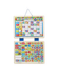 Magnetic Chart Paper Magnetic Responsibility Chart