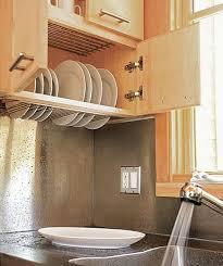 dish drying closet
