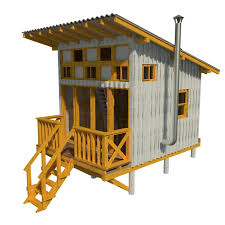 ... Extraordinary Micro Cabin Plans 1 Elevated Cabin Plans On Tiny Home