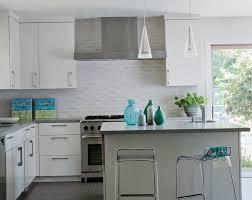 Unique Kitchen Backsplash Ideas White Cabinets With Throughout K For Creativity