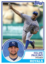 1983 Topps Royals: Felipe Paulino | A Hair Off Square