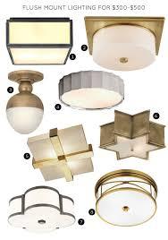 flush mount lighting fixtures for 300 500