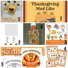 Thanksgiving Kids Table Ideas .... decorations, crafts, activities, snacks &