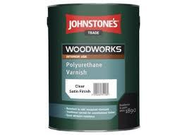 <b>Лак</b> для <b>паркета Johnstones</b> Polyurethane Varnish Clear Satin 0.75л