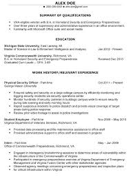 Foreign service officer resume Free Sample Resume Cover sample military  civilian resume resume example image military