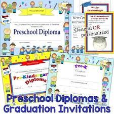 Prek Diploma Prek Graduation Certificate Prek Diplomas Editable And Kindergarten