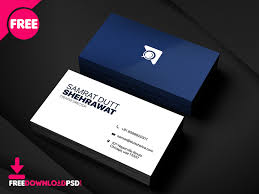 Office Visiting Card Free Creative Business Card Psd Template By Free Download Psd