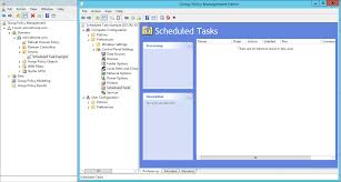 Group Scheduler Managing Scheduled Tasks From Group Policy