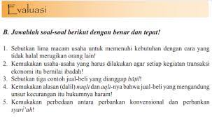 Kunci jawaban pai kelas 8 halaman 154, 155, 156; Jawaban Esai Evaluasi Bab 9 Pai Halaman 156 Kelas 11 Ekonomi Islam Bastechinfo