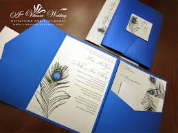 platinum wedding decorations royal blue & platinum wedding White And Blue Wedding Invitations platinum wedding decorations royal blue & platinum wedding invitation with peacock feather design royal blue and white wedding invitations