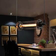 vintage kitchen lighting. LukLoy Industrial Retro Vintage Chandelier Flute Light Kitchen Lighting