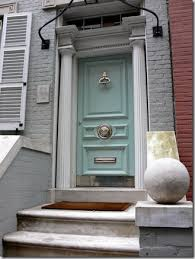 inside front door apartment. The Powder Blue Front Door Of Designer Molly Frey\u0027s House Is A Beautiful  Prelude To The Tranquil Color Palette Inside: Inside Apartment