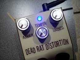 diy rat clone distortion guitar effect pedal the dead rat 5 steps picture of rock n roll