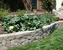 raised beds built with stones beautiful garden design and backyard landscaping ideas