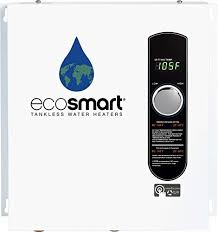 Ecosmart Tankless Water Heater Sizing Chart Ecosmart Eco 24 24 Kw At 240 Volt Electric Tankless Water Heater With Patented Self Modulating Technology