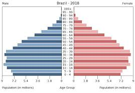 Brazil Population Chart Brazil Age Structure Demographics