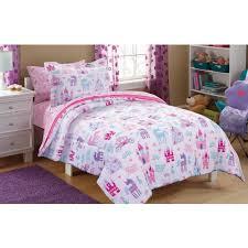 Mainstays Kids Pretty Princess Bed In A Bag Bedding Set Walmartcom Image  With Extraordinary Disney Twin ...