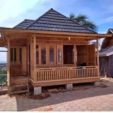 Jual Rumah kayu knock Down Jawa Timur Harga Terbaru 2021