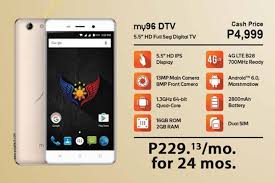 myphone myphone releases my96 dtv w 700mhz lte support yugatech