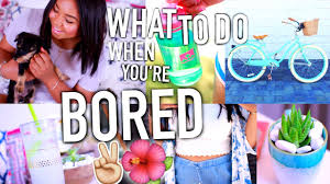 what to do when you re bored in summer diy ideas need try